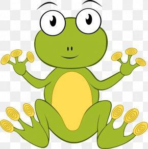 Frog - Frog Amphibian Clip Art PNG