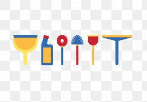 Cleaning Tools - Broom Detergent Mop Cleaning PNG