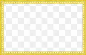 China Wind Exquisite Pattern Border - Board Game Yellow Area Pattern PNG