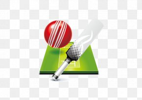 Vector Cricket - Cricket Ball Batting Racket Tennis PNG