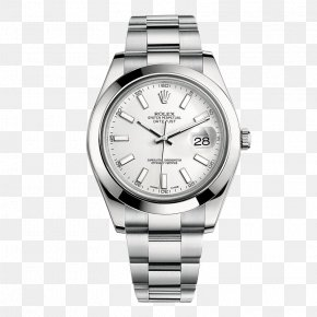 Rolex Watch Silver Watch - Rolex Datejust Rolex Daytona Automatic Watch PNG