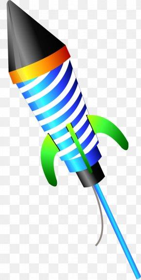 Vector Color Fireworks - Diwali Rocket Fireworks Firecracker PNG