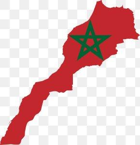 Flag - Flag Of Morocco National Flag PNG