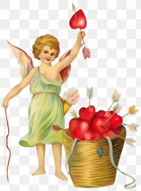 Valentine's Day - Victorian Era Valentine's Day Vinegar Valentines Cupid Clip Art PNG