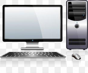 Gray Technology Computer - Computer Keyboard Computer Mouse Laptop Computer Case Computer Monitor PNG