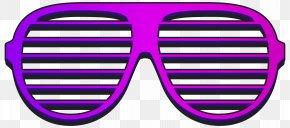 Cool Shutter Shades Clipart Image - Shutter Shades Sunglasses Clip Art PNG