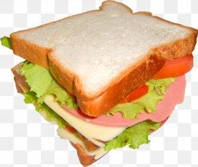Openfaced Sandwiches - Hamburger Bologna Sandwich Image PNG