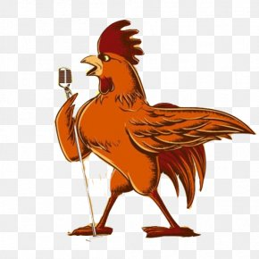 Singing Cock Stock Image - Eurovision Song Contest 2017 Illustrator Illustration PNG