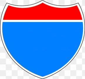 Shield - Interstate 10 US Interstate Highway System Interstate 5 Sign Clip Art PNG