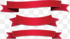 Red Ribbon Vector - Ribbon Stock Illustration Illustration PNG