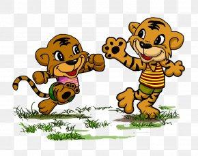 Cartoon Tiger - Tiger Cartoon PNG