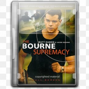 Dvd - Matt Damon The Bourne Supremacy Jason Bourne The Bourne Film Series PNG
