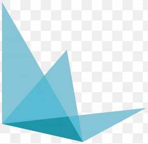 Hexagon - Blue Aqua Teal Turquoise Triangle PNG