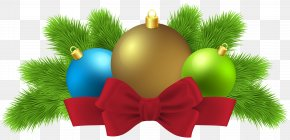 Christmas Balls Deco Clip Art Image - Christmas Ornament Clip Art PNG