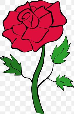 Rose Clip Art - Blue Rose Clip Art PNG