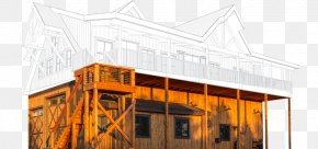 Old Barn - Pole Building Framing Post Steel Building PNG