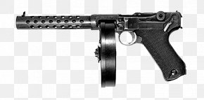 Submachine Gun - Trigger Thompson Submachine Gun Weapon Firearm PNG