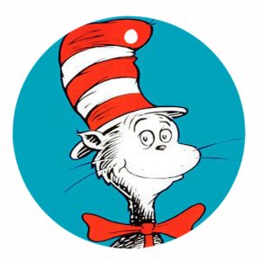 Dr. Suess Clipart - The Cat In The Hat Green Eggs And Ham T-shirt Clip Art PNG
