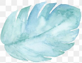 Hand-painted Mint Green Leaves - Download Mentha Spicata Clip Art PNG