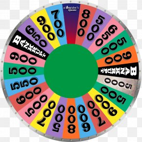 Wheel Of Fortune Video Games - Wheel Game Show Template PNG