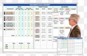 Business - Automobile Salesperson Dry-Erase Boards Car Dealership Business PNG
