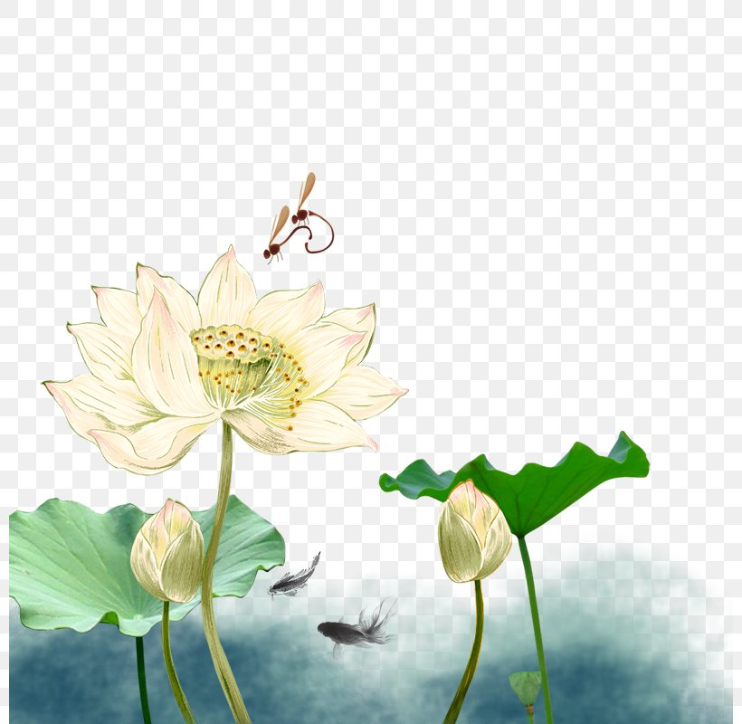 Mid-Autumn Festival Mooncake Nelumbo Nucifera National Day Of The Peoples Republic Of China Poster, PNG, 800x800px, Midautumn Festival, Aquatic Plant, Change, Chinoiserie, Cut Flowers Download Free