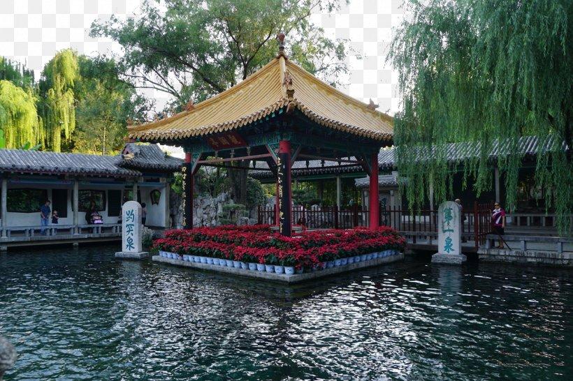 Daming Lake Baotu Spring Thousand Buddha Mountain Mount Tai Qufu, PNG, 1200x800px, Daming Lake, Baotu Spring, Chinese Architecture, Gazebo, Gratis Download Free