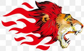 Avatar Ferocious Animals Vector Material - Lion Leopard Tiger T-shirt PNG