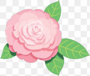 Free - Pink Flowers Free Rose Clip Art PNG