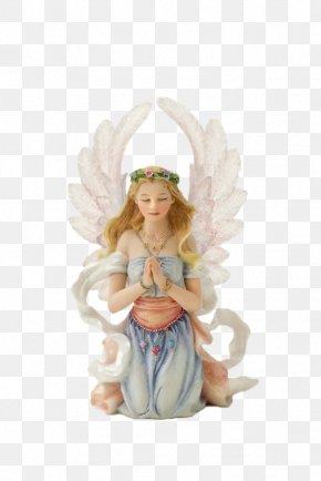 Vintage Angel Sculpture - Angel Sculpture God Clip Art PNG