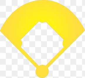 Baseball Diamond Outline - Line Area Angle PNG