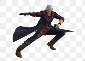 Edge Triggered - Devil May Cry 4 Nero WPAP Dab Action & Toy Figures PNG