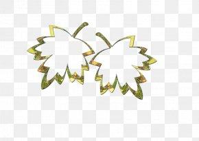 Cartoon Maple Leaf - Maple Leaf PNG