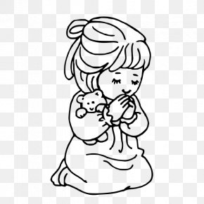 Prayers Cliparts - Praying Hands Prayer Child Clip Art PNG