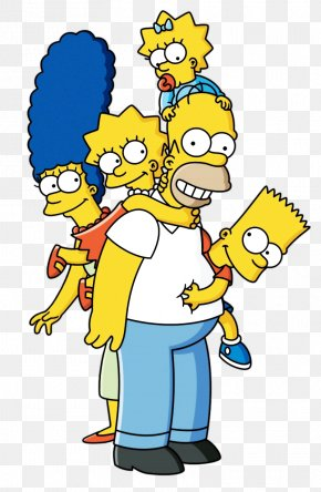 Bart Simpson - Homer Simpson Bart Simpson Marge Simpson Lisa Simpson Maggie Simpson PNG