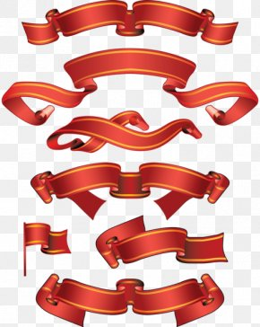 Ribbon - Ribbon Banner Paper Clip Art PNG