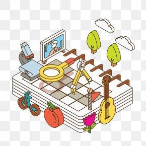 Calendar And School Supplies - Calendar Learning School Supplies PNG