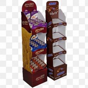 Point Of Sale Display - Point Of Sale Display Cardboard Chocolate Bar PNG