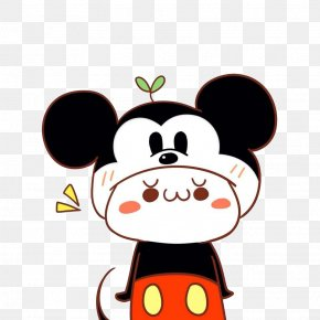 Mickey Mouse Hat's Cute Doll - Mickey Mouse Minnie Mouse Donald Duck Cartoon PNG
