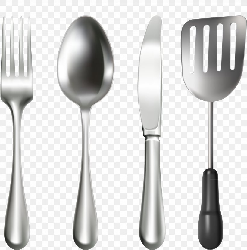 Knife Spoon Fork Cutlery, PNG, 2682x2720px, Knife, Creative Market, Cutlery, Fork, Spoon Download Free
