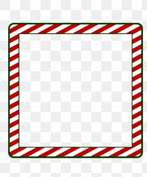 Xmas Frame In - Borders And Frames Santa Claus Picture Frames Window Clip Art PNG