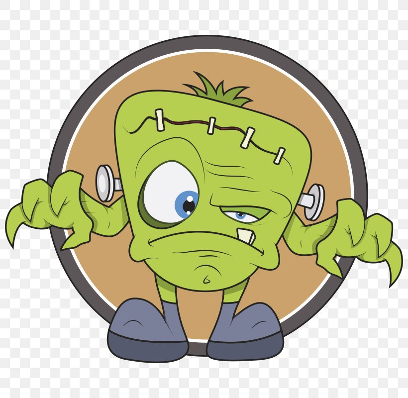 Frankenstein's Monster Cartoon, PNG, 800x800px, Frankenstein S Monster, Amphibian, Can Stock Photo, Cartoon, Drawing Download Free
