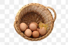 Basket Filled With Eggs - Chicken Egg Egg In The Basket PNG