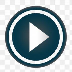 Play Button - Brand Circle Microsoft Azure Font PNG