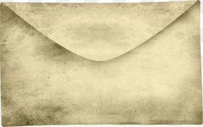 Old Envelope - Envelope Clip Art PNG