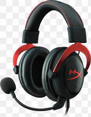 Game Headset - Kingston HyperX Cloud II Headphones Xbox One PNG