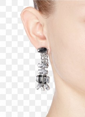 Kind Of Black Diamond Earrings - Earring Jewellery Diamond Designer PNG