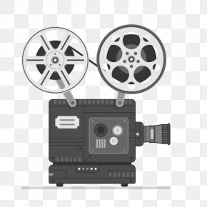 Film Elements,projector - Movie Projector Film Movie Camera PNG