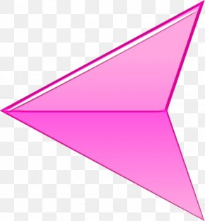 Paper Magenta - Pink Triangle Line Violet Cone PNG