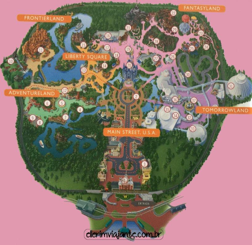 Magic Kingdom Disney\'s Animal Kingdom Disneyland Paris Map ...